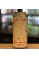 "Saison Lamplighter Brewing Co w/Shacksbury Cider ""Sweater Weather"" Saison w/Cider - Cambridge, MA"