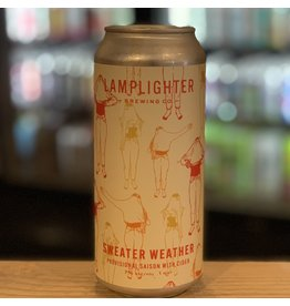 "Saison Lamplighter Brewing Co w/Shacksbury Cider ""Sweater Weather"" Saison w/Cider - Cambridge, MA"