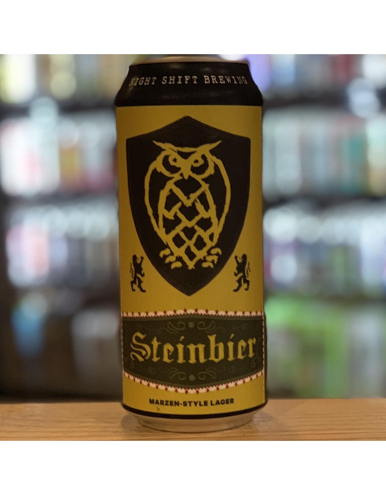 "Lager Night Shift Brewing ""Steinbier"" Marzen Lager - Everett, MA"