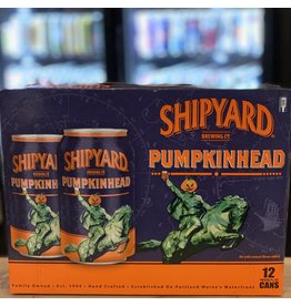 "12-Pack Shipyard Brewing Company ""Pumpkinhead"" Ale w/Pumpkin Spices 12-Pack - Portland, Maine"