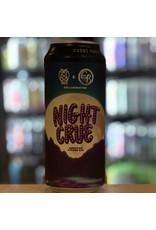 "Ale Night Shift Brewing w/Crue Brew ""NIght Crue"" American Strong Ale - Everett, MA"