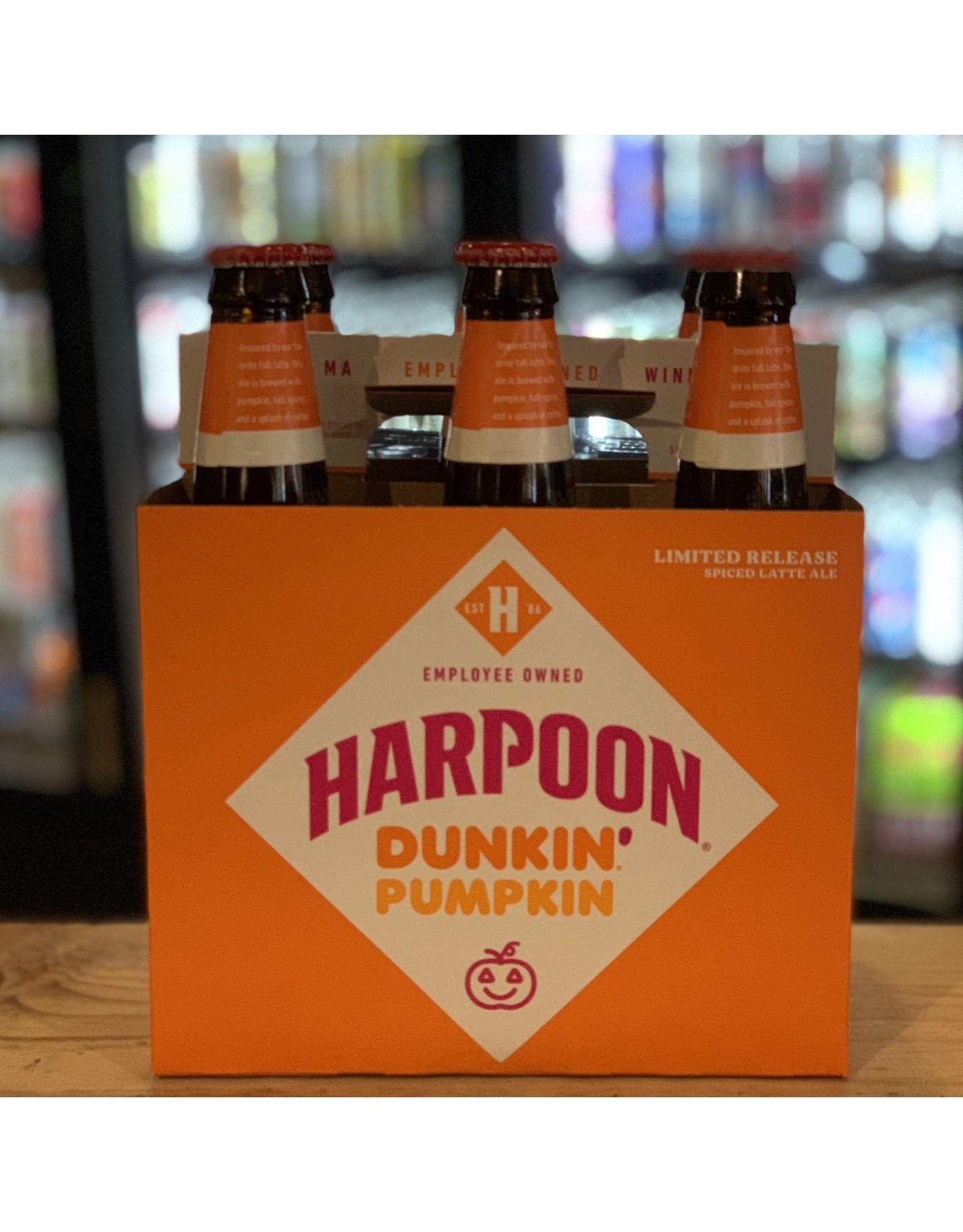 "Ale Harpoon ""Dunkin' Pumpkin Latte"" Ale w/Pumpkin, Spices and Dunkin' Coffee 6-Pack - Boston, MA"