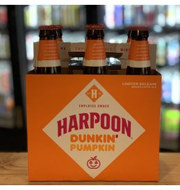 "Ale Harpoon ""Dunkin' Pumpkin Latte"" Ale w/Pumpkin, Spices and Dunkin' Coffee 6-Pack - Boston, MA"