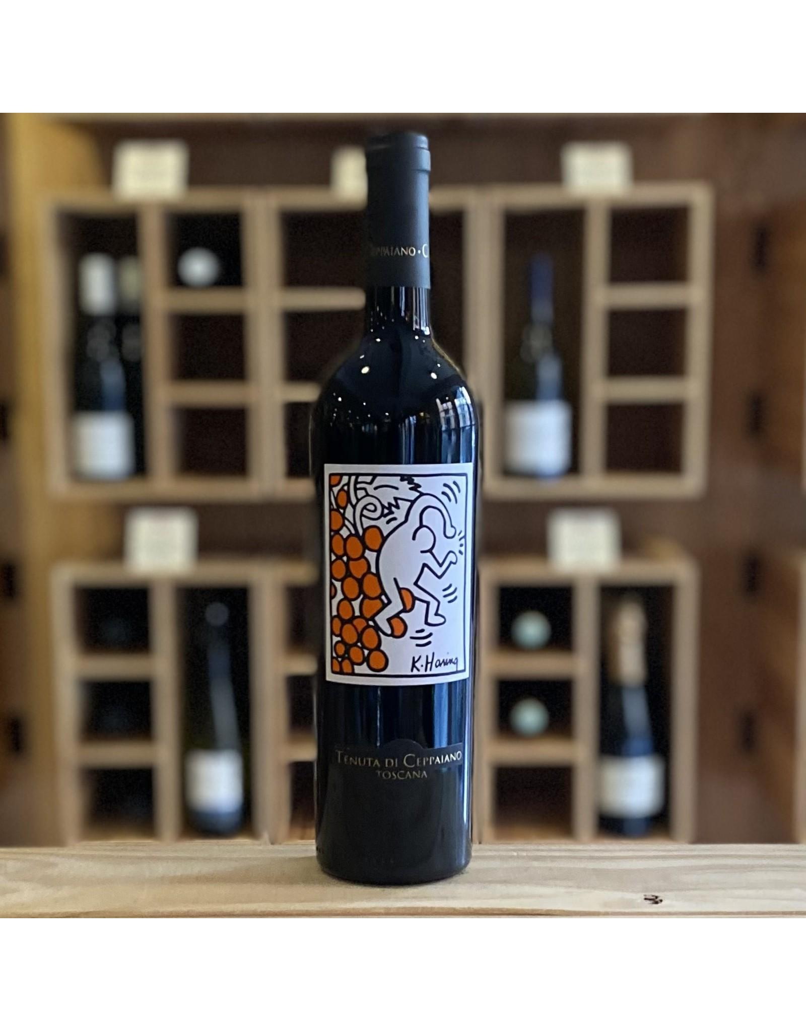 Tuscany Tenuta Di Ceppaiano ''Keith Haring'' Rosso 2015 - Tuscany, Italy