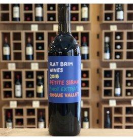 Rogue Valley Flat Brim Wines ''Not Extra'' Petite Sirah 2018 - Rogue Valley, Oregon