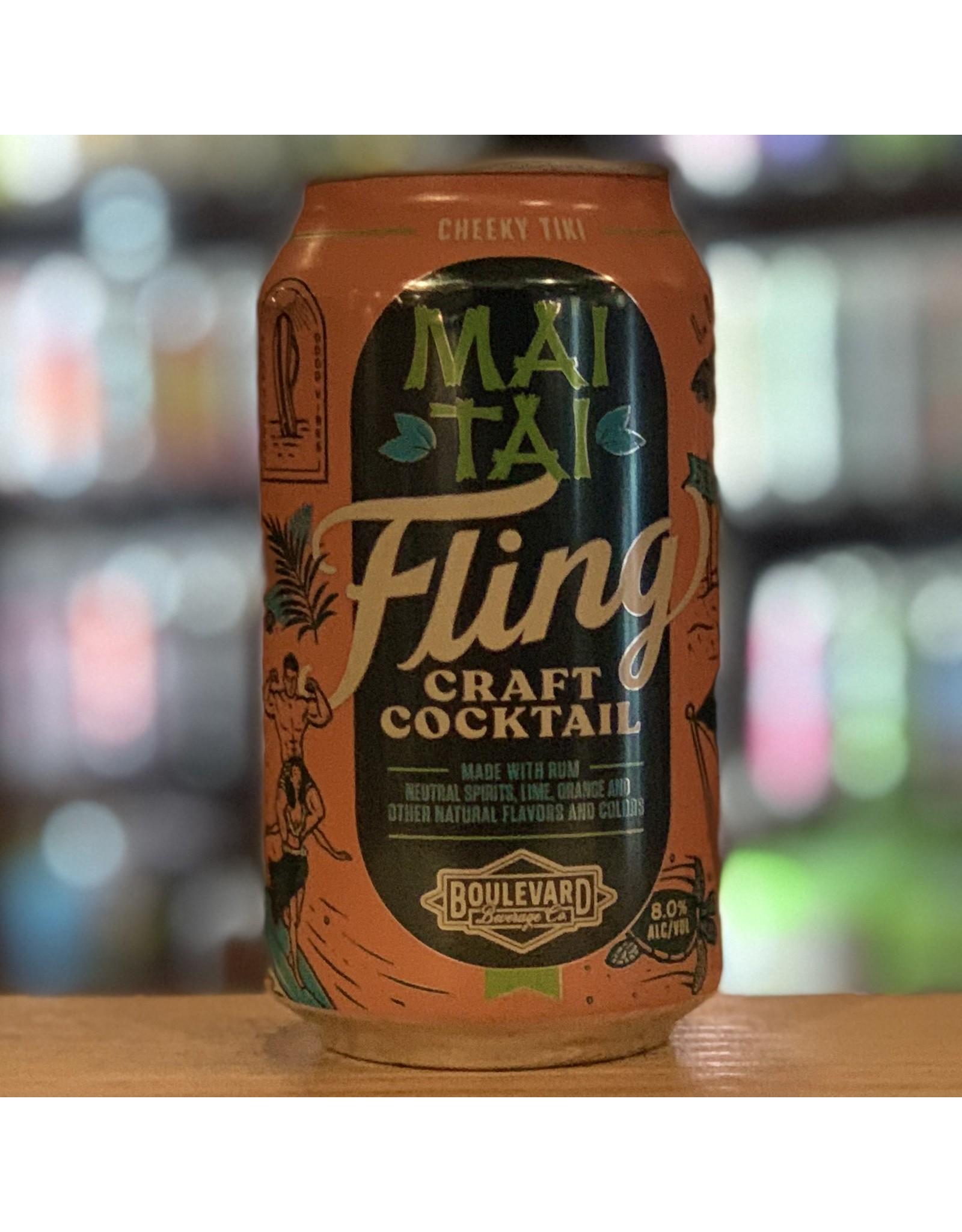 RTD Boulevard Beverage Company ''Fling'' Mai Tai Craft Cocktail RTD - Missouri