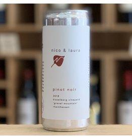 Nico & Laura Rheinhessen Pinot Noir 250ml Can - Rumford, RI