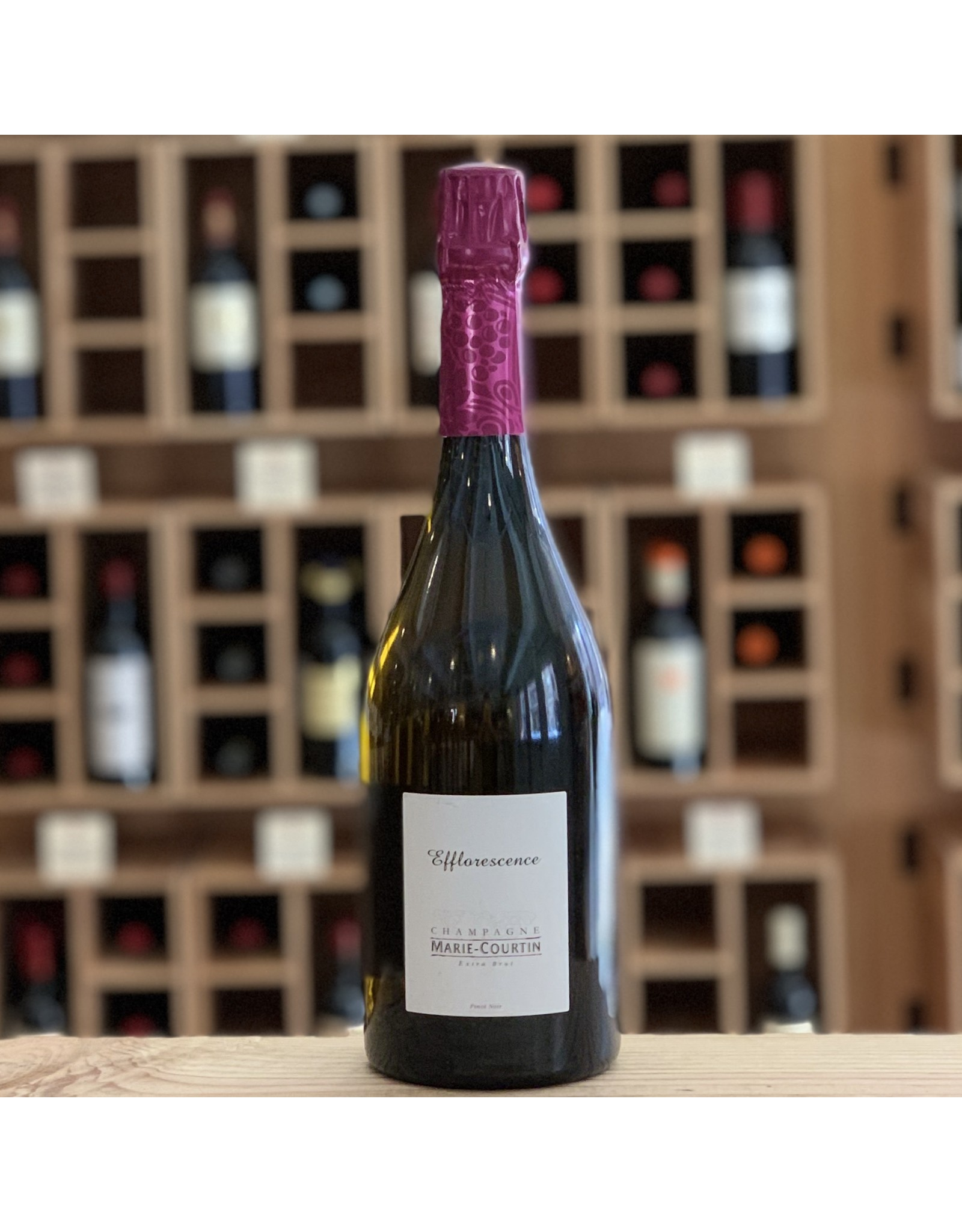 "Organic Marie Courtin ""Efflorenscence"" Blanc de Noirs Extra Brut NV - Champagne, France"