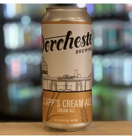 "Ale Dorchester Brewing Co ""Clapp's"" Cream Ale - Dorchester, MA"