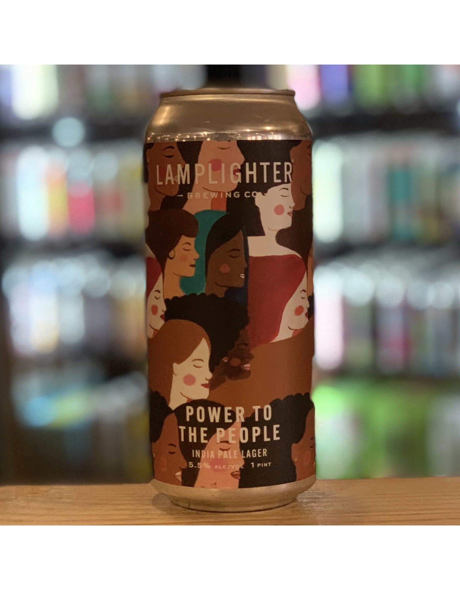 "Lager Lamplighter Brewing Co ""Power to the People"" IPL - Cambridge, MA"