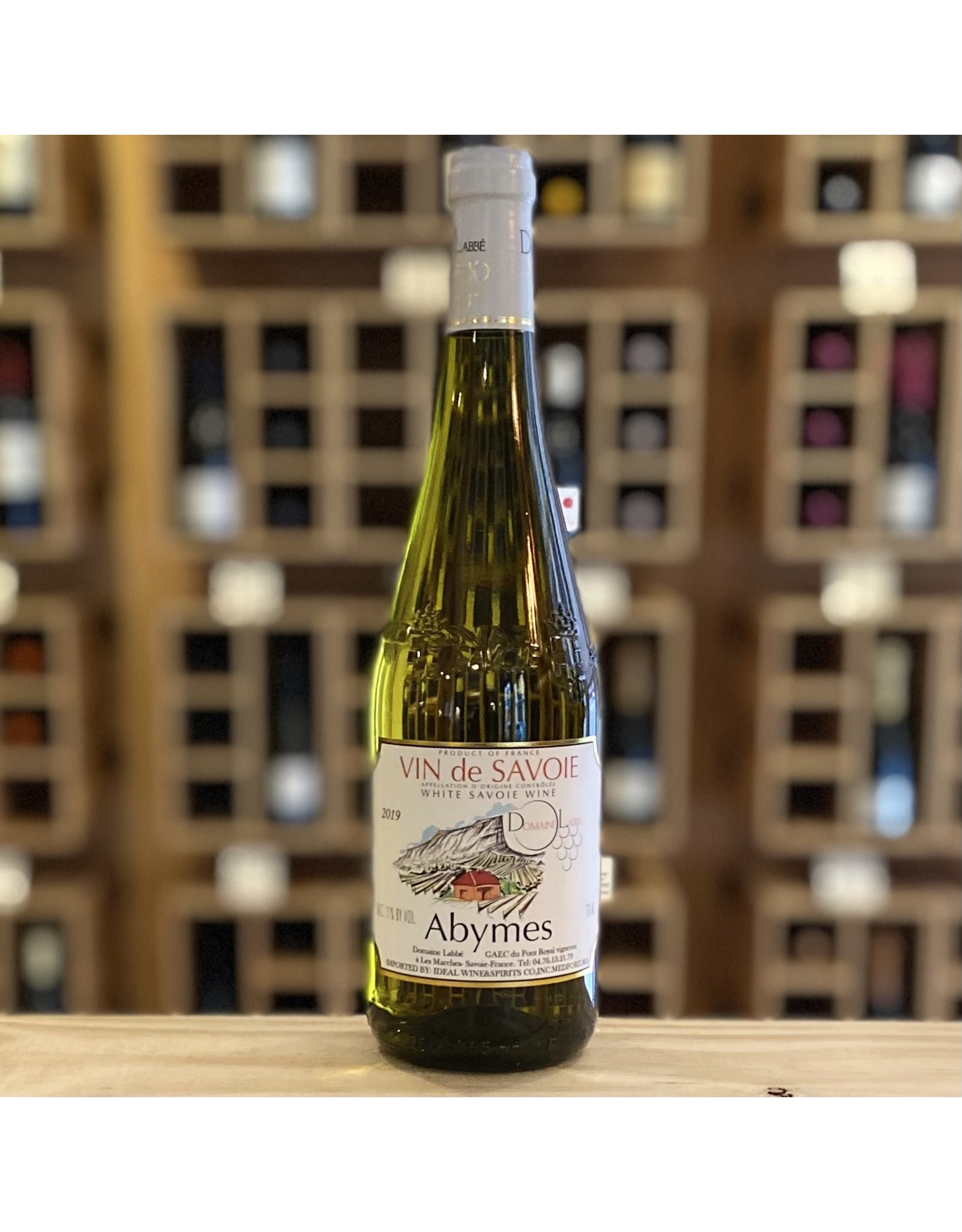 """France Domaine Labbe """"Abymes"""" Blanc 2019 - Savoie, France"""
