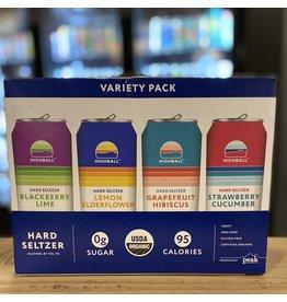 "Organic Peak Organic ""Highball"" Hard Seltzer Variety 12-Pack"