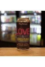 NEIPA Mayflower Brewing Company ''Love & Wrestling'' DDH NEIPA - Plymouth, MA