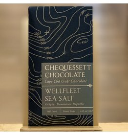Chocolate Chequessett Chocolate Sea Salt Bar