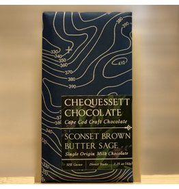 Chocolate Chequessett Chocolate Sconset Brown Butter Sage Milk Chocolate - North Truro, MA