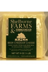 """Cheese Shelburne Farms w/Fiddlehead Brewery """"Beer Cheddar"""" Cheese - Shelburne, Vermont"""