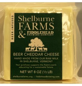 "Cheese Shelburne Farms w/Fiddlehead Brewery ""Beer Cheddar"" Cheese - Shelburne, Vermont"