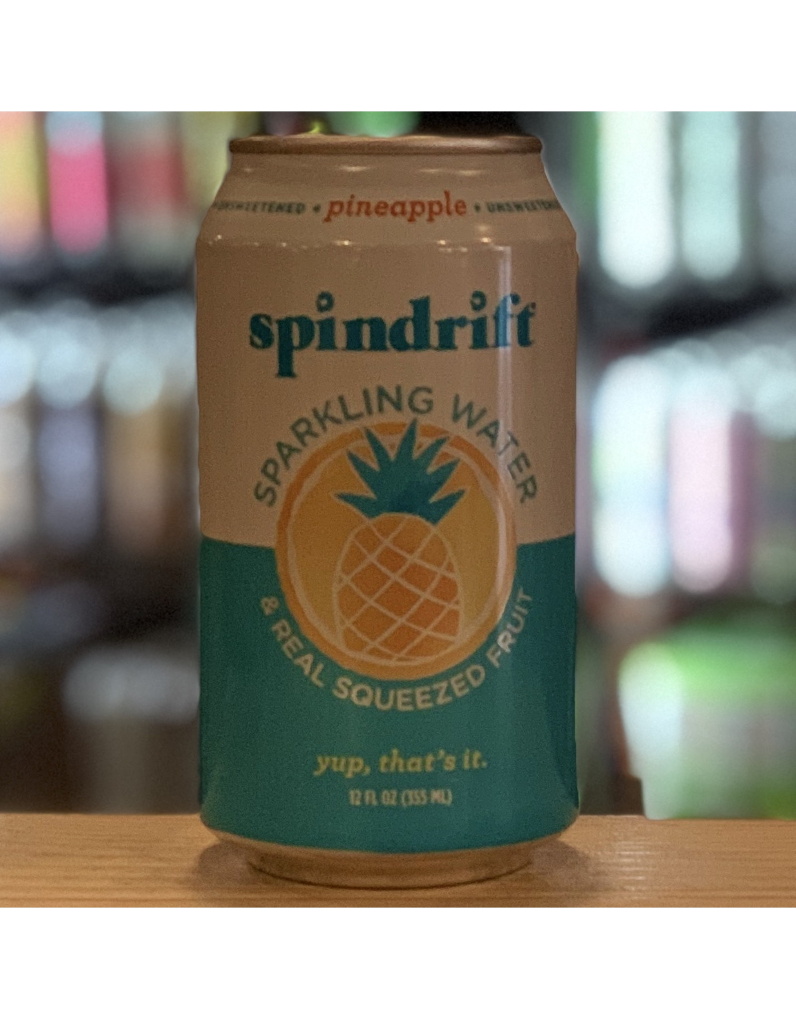Water-Sparkling Mineral Spindrift Pineapple Sparkling Water - Newton, MA
