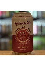 Water-Sparkling Mineral Spindrift Cranberry Raspberry Sparkling Water - Newton, MA