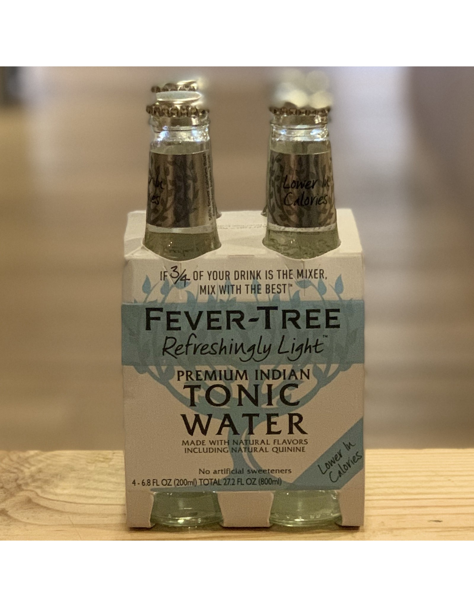 Mixers Fever Tree Light Tonic Water 200ml 4-pack