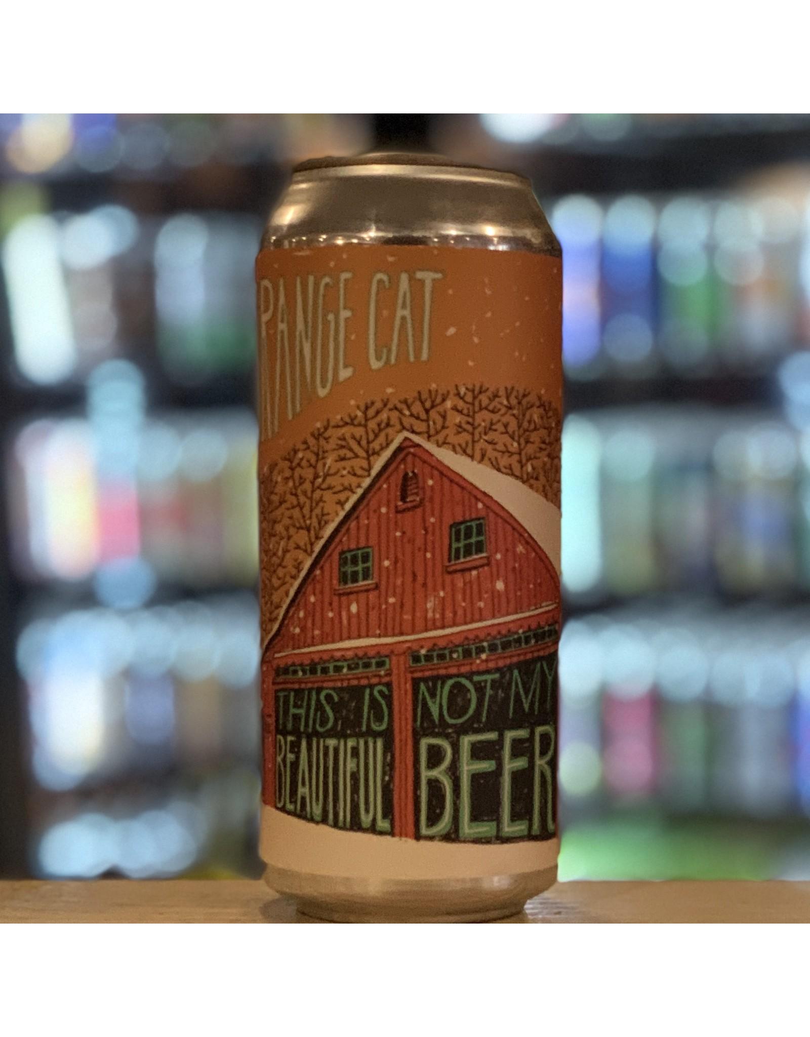 """NEIPA Fat Orange Cat """"This Is Not My Beautiful Beer"""" NEIPA - Boston, MA"""