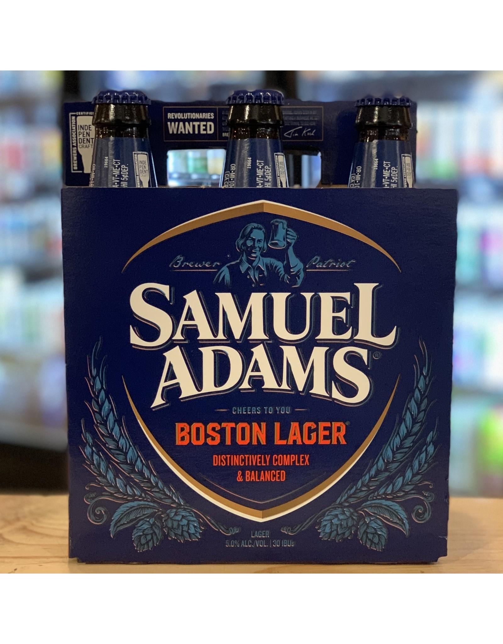 Lager Sam Adams Boston Lager  6-Pack Bottles - Boston, MA
