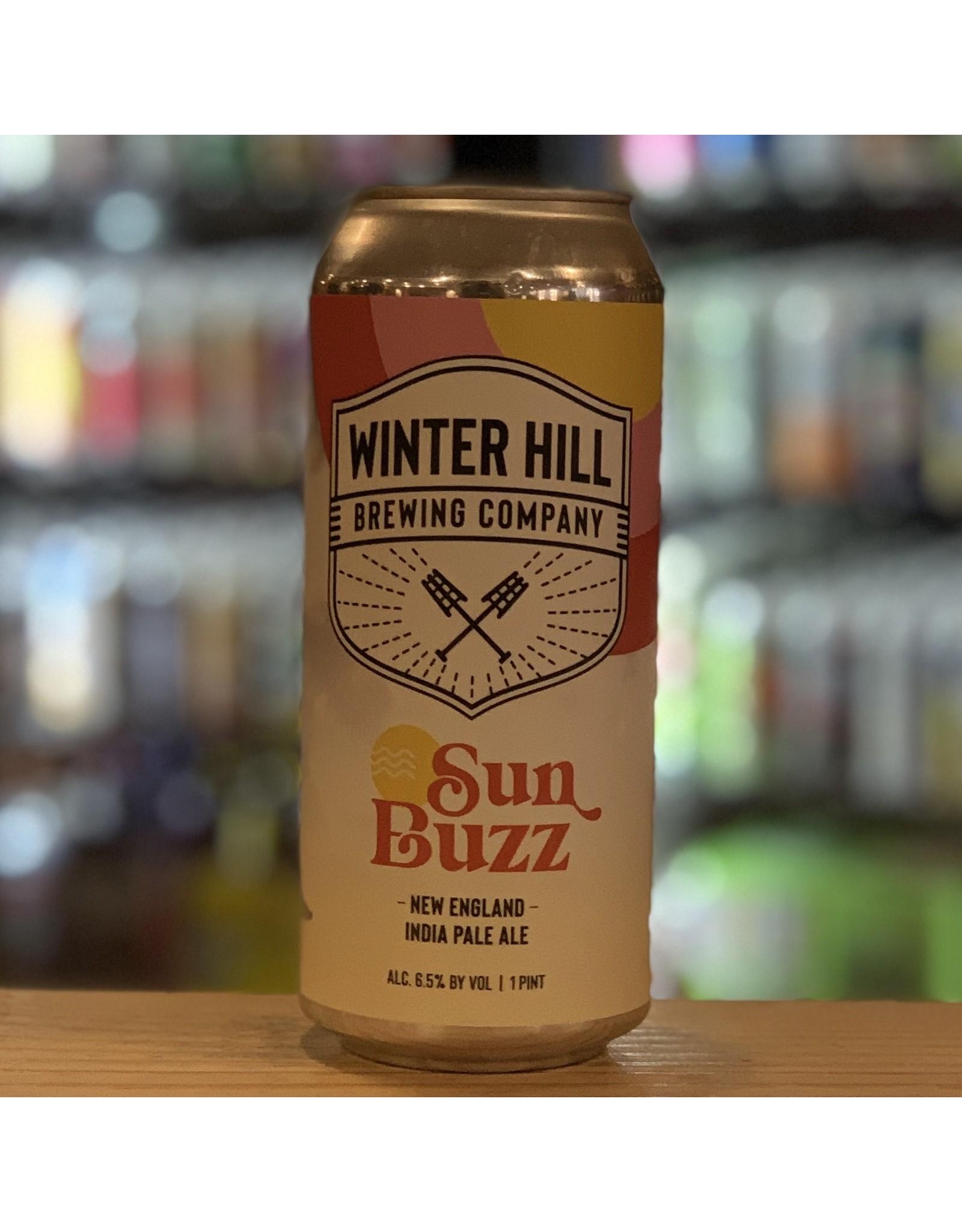 "NEIPA Winter Hill Brewing Company ""Sun Buzz"" NEIPA - Somverville, MA."