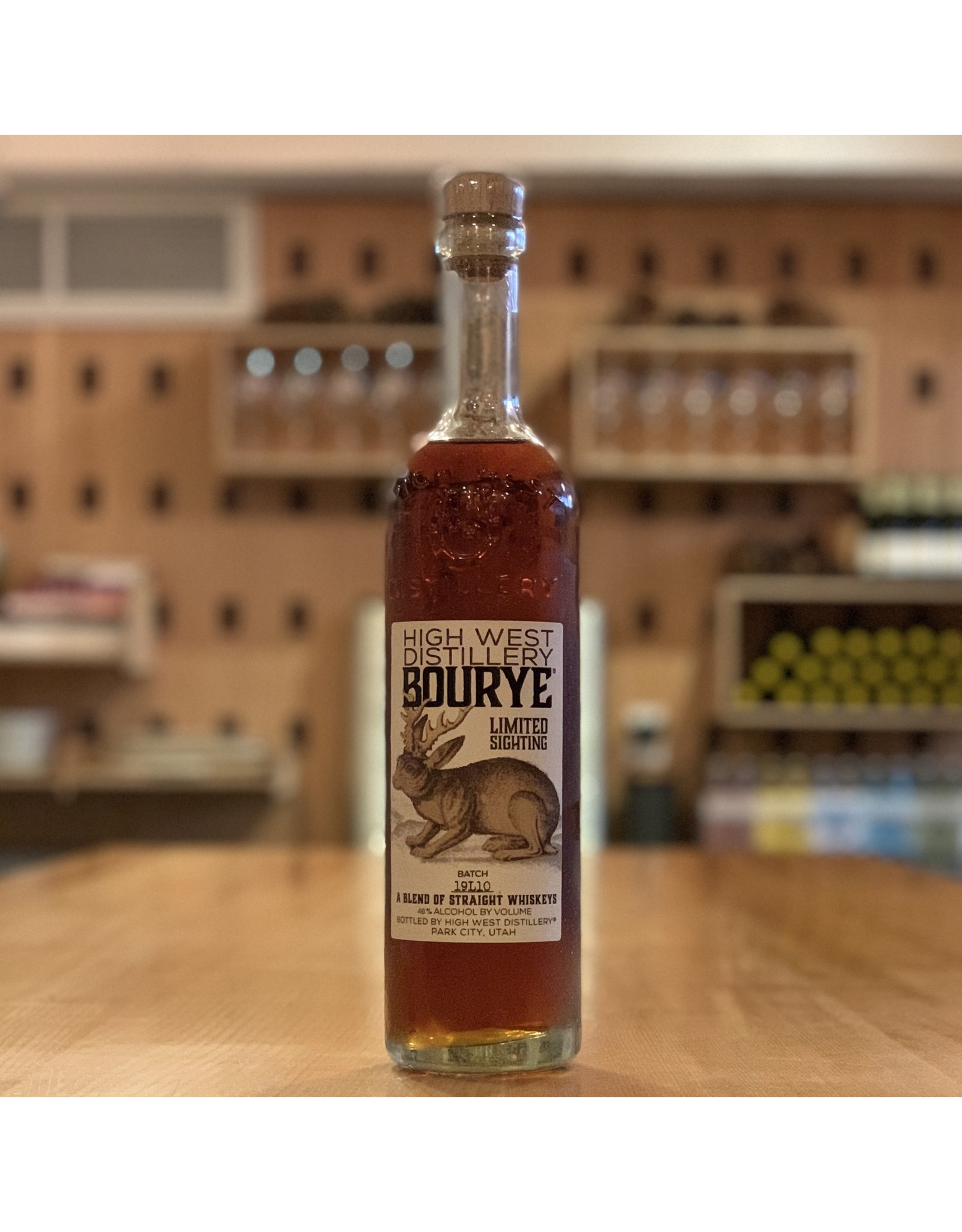 "High West Distillery ""Bourye"" Limited Sighting, Straight Whiskey Blend - Park City, Utah"