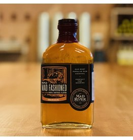 """Local Mad River """"Mad Fashioned"""" Old-Fashioned Style Cocktail w/Rum, Maple and Natural Flavors 200ml - Warren, Vermont"""