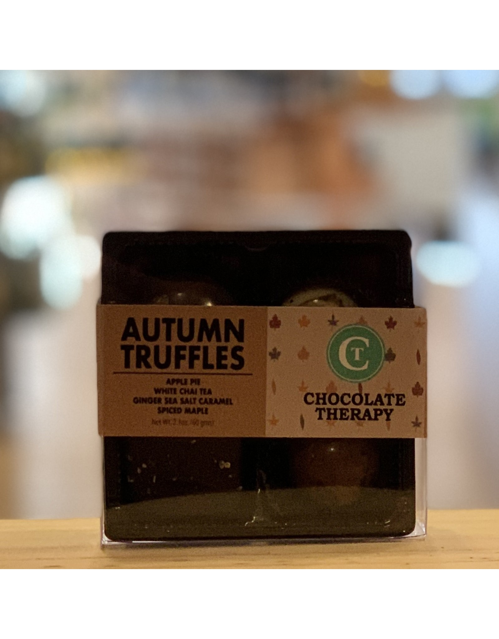 Chocolate Chocolate Therapy Autumn Truffle Collection 4pc - Framingham, MA