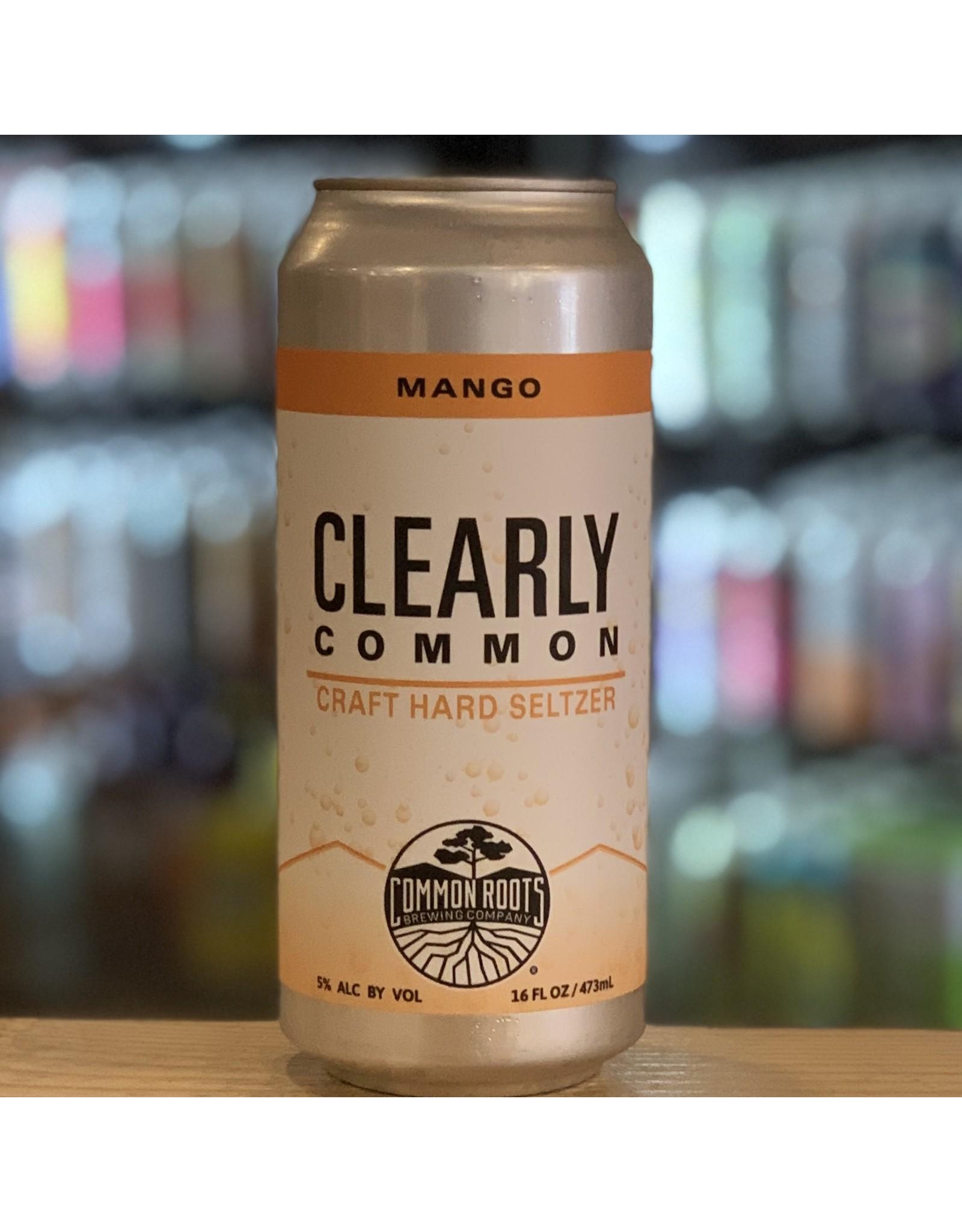 """IPA Common Roots """"Clearly Common"""" Hard Seltzer w/Mango - South Glen Falls, NY"""