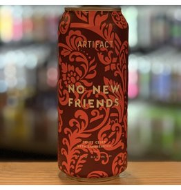 Local Artifact Cider ''No New Friends'' Cider w/Cranberries -