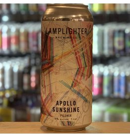 "Pilsner Lamplighter Brewing Co ""Apollo Sunshine"" Pilsner - Cambridge, MA"