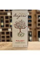 "3 Liter Box Domaine Bousquet ""Natural Origins"" Malbec 2019 3 Liter Bag-In-Box - Mendoza, Argentina"