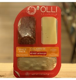 Olli Salumeri Snack Pack w/Calabrese, Asiago and Crackers - Oceanside, CA