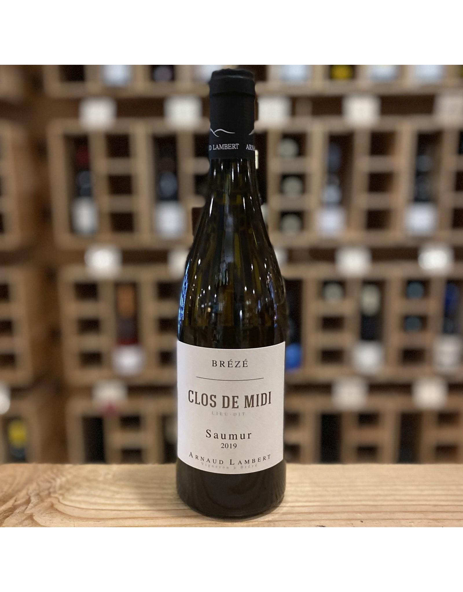 """Organic Arnaud Lambert """"Clos de Midi"""" Saumur Blanc 2020 - Loire Valley, France"""