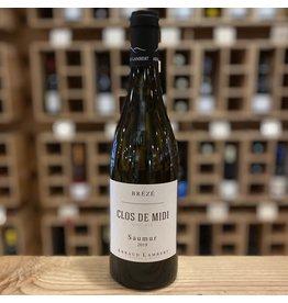 """Organic Domaine Arnaud Lambert """"Clos de Midi"""" Breze Chenin Blanc 2019 - Saumur, France"""