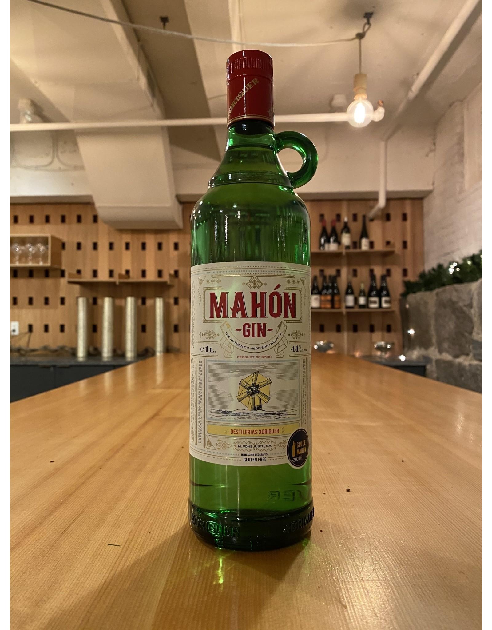 Gin Destilerias Xoriguer ''Gin de Mahon'' Gluten Free Gin 1 Liter - Menorca, Spain