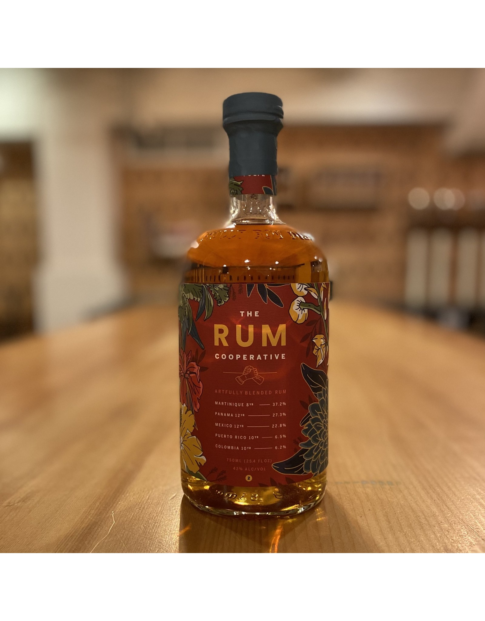 "Local Bully Boy Distillers ""The Rum Cooperative Volume 2 "" Rum - Boston, MA"