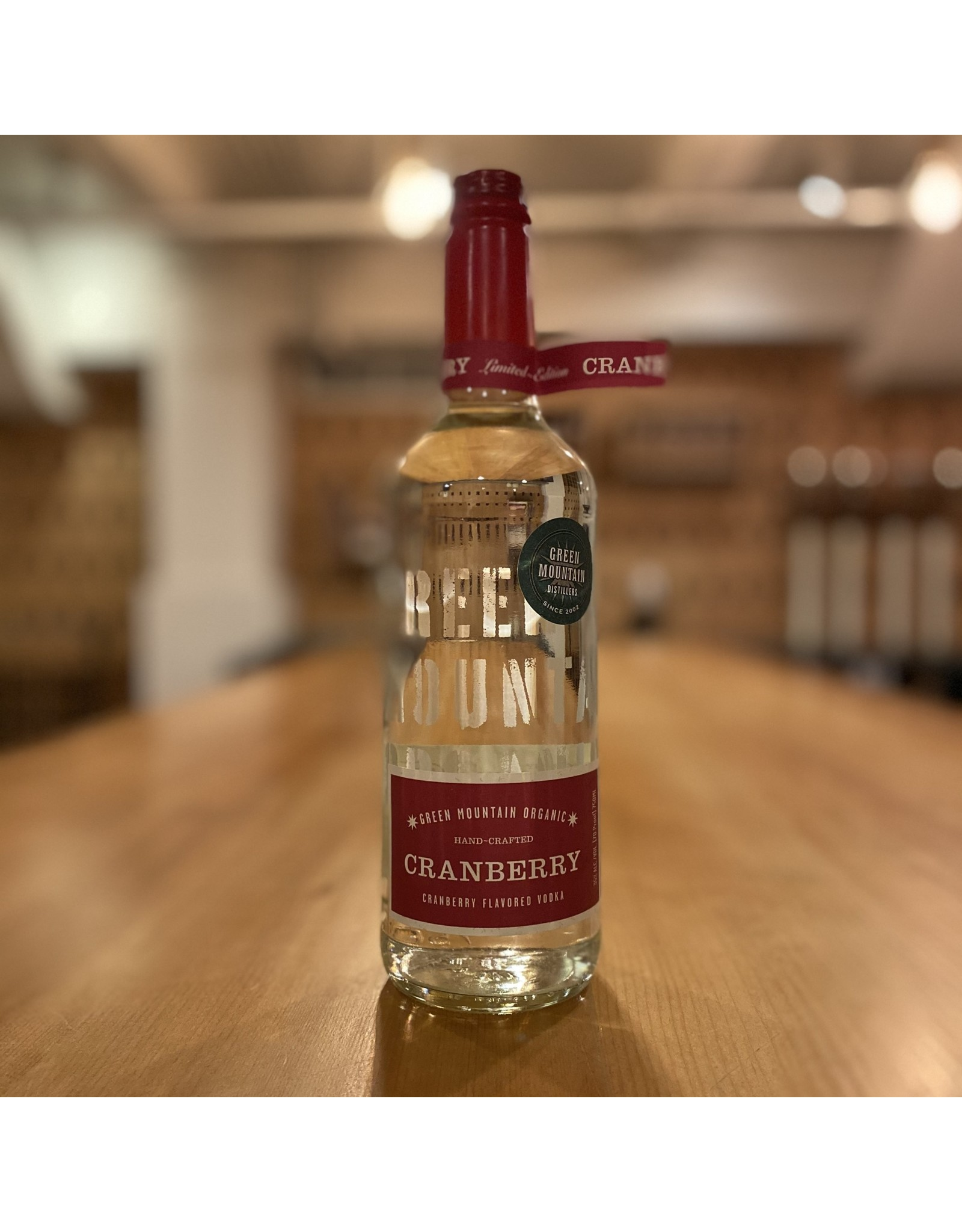 Green Mountain Distillers Organic Cranberry Vodka - Vermont