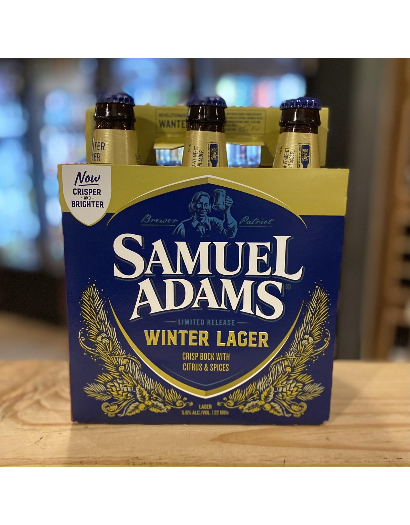 Lager Samuel Adams Winter Lager 6-Pack Bottles - Boston, MA