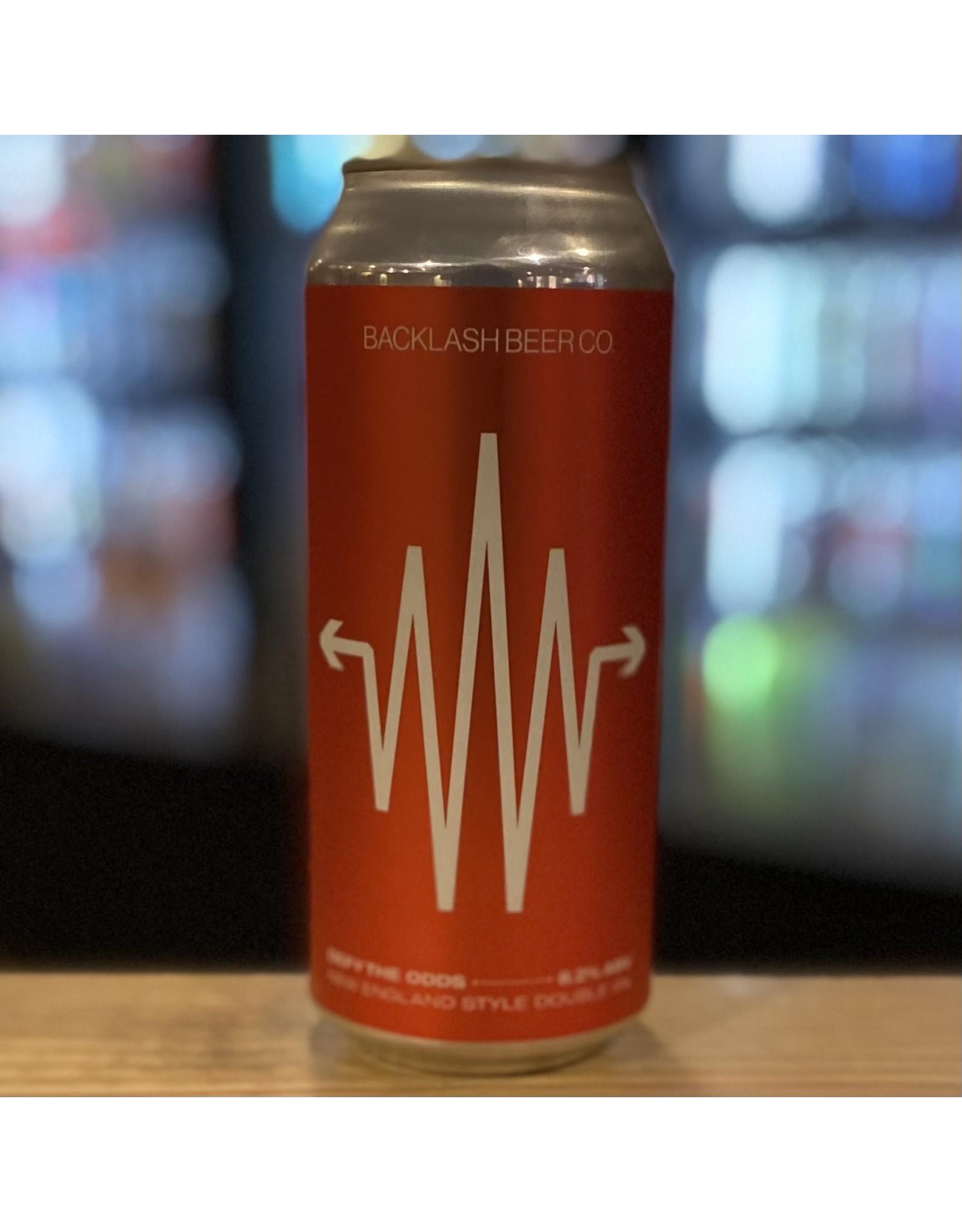 "DIPA Backlash Beer Co ""Defy The Odds"" NEDIPA - Boston, MA"