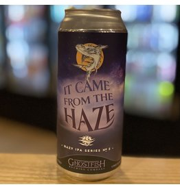"IPA Ghostfish Brewing Company ""It Came From The Haze"" Gluten Free IPA - Seattle, Washington"