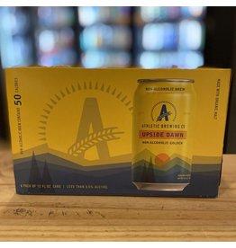 "Non-Alchoholic Athletic Brewing Co ""Upside Dawn"" Non-Alchohlic Golden Ale 6-Pack - Connecticut"