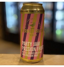 "Sour Hermit Thrush Brewery ""Party Jam"" Kettle Soured Wild Ale w/Passionfruit - Brattleboro, VT"