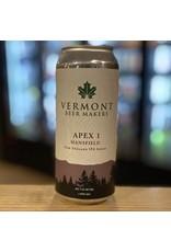 "NEIPA Vermont Beer Makers ""Apex 1 Mansfield"" NEIPA - Springfield, Vermont"