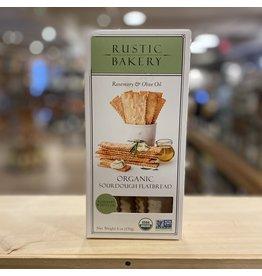 Organic Rustic Bakery Organic Sourdough Flatbread w/Rosemary and Olive Oil - Petaluma, CA