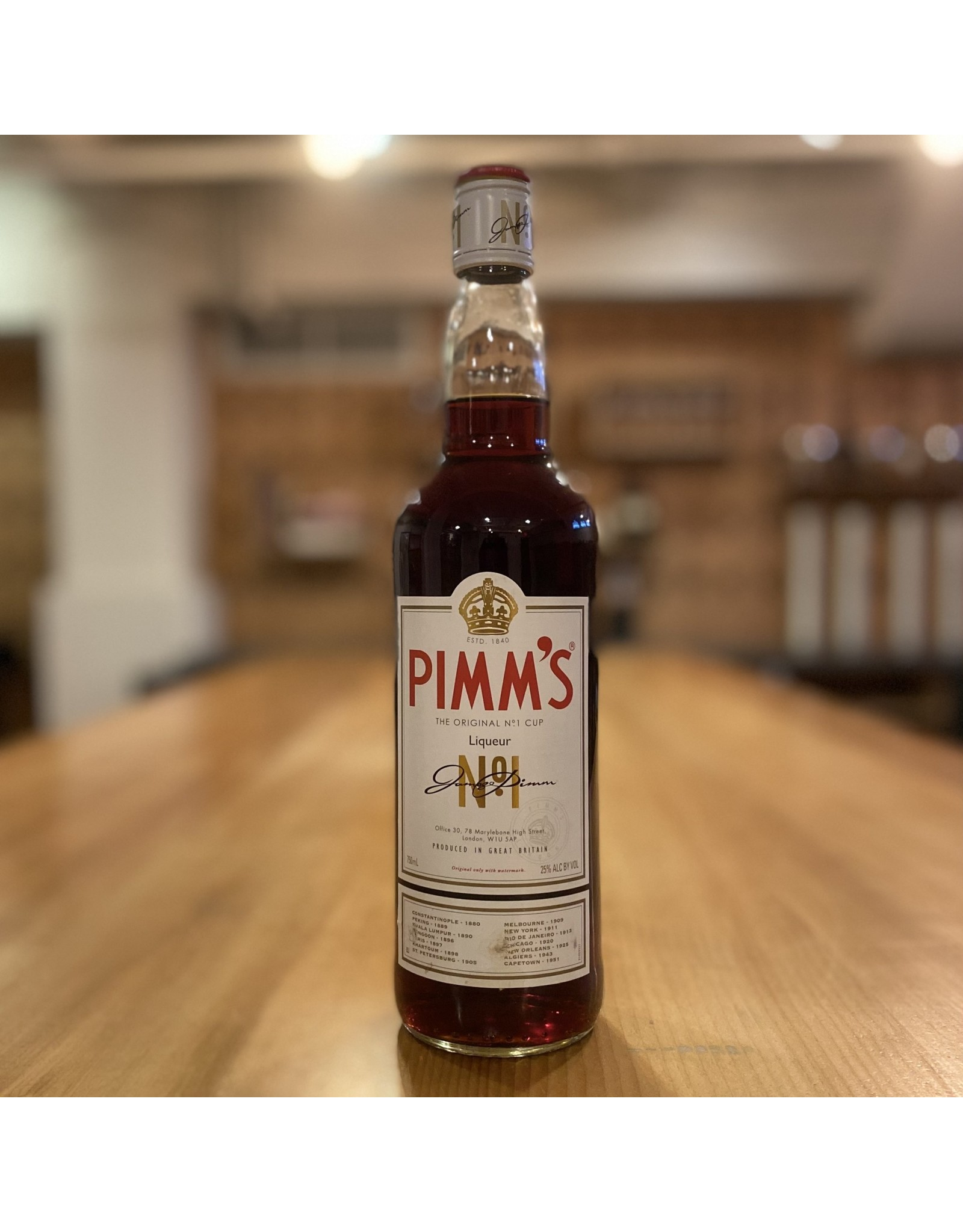 Cordial Pimm's Cup Liqueur - Great Britain