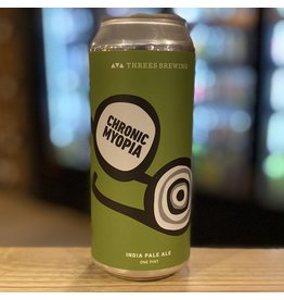 "IPA Threes Brewing ""Chronic Myopia"" IPA - Brooklyn, NY"