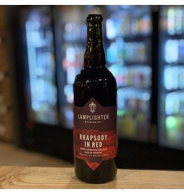 "Sour Lamplighter Brewing Co ""Rhapsody in Red"" Sour Beer Aged on Cherries 750ml - Cambridge, MA"
